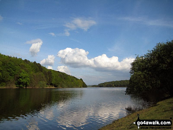 Damflask Reservoir from Low Bradfield
