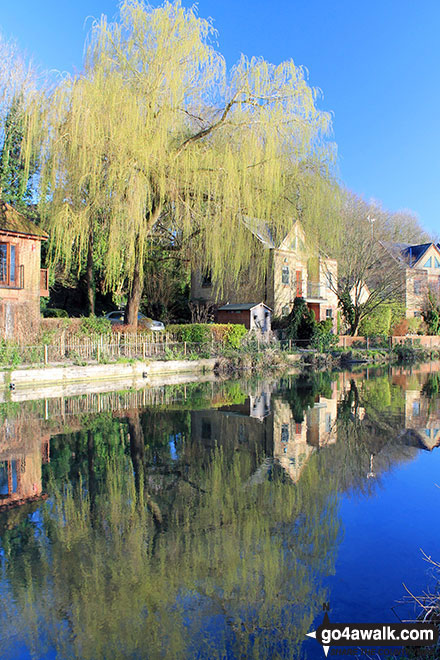 The Itchen Navigation in Winchester
