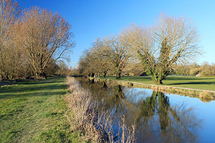 The Itchen Navigation near Winchester