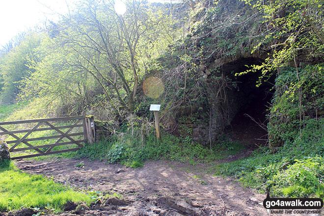 Old Limekiln in Gratton Dale