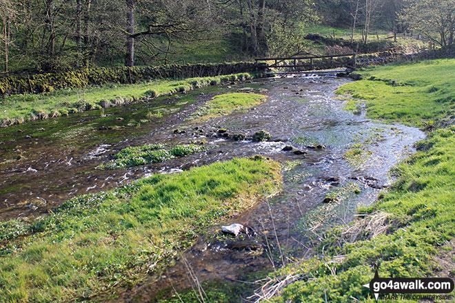The River Bradford in Bradford Dale near Youlgreave