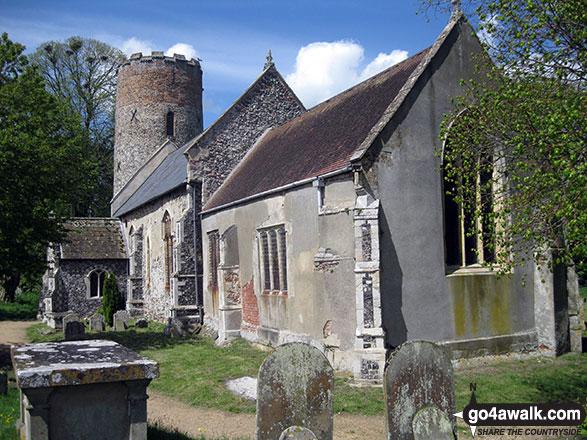 Burgh Castle church