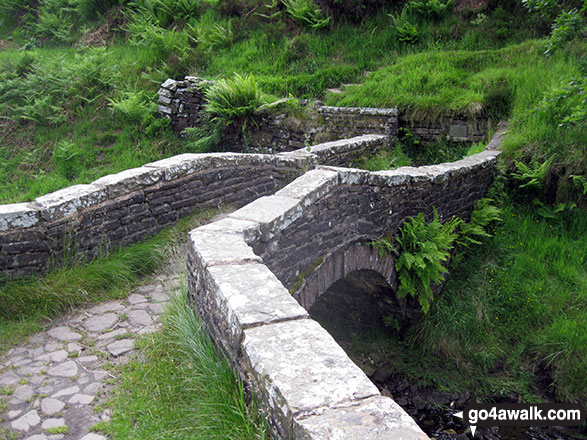 Stone bridge over the River Goyt