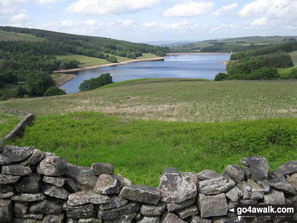 Errwood Reservoir from Goyt's Moss