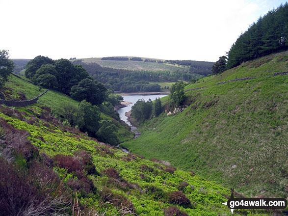 Errwood Reservoir from Wild Moor
