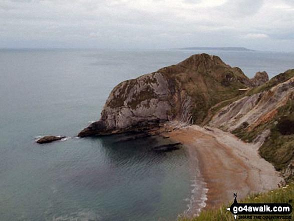 St Oswald's Bay - known locally as Man O'War Bay
