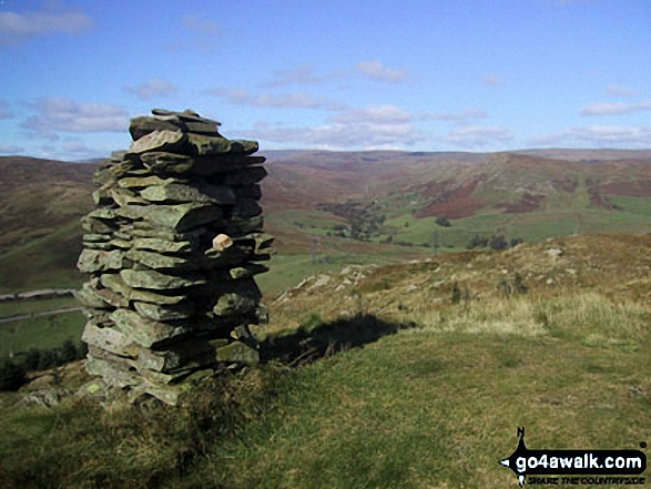 Walk Ashstead Fell walking UK Mountains in The Far Eastern Marches The Lake District National Park Cumbria    England