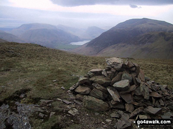 Robinson (left), Buttermere and Red Pike (Buttermere) from Hen Comb summit cairn