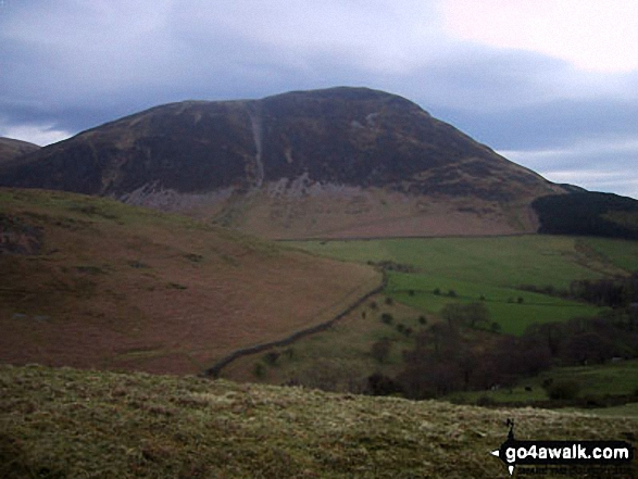 Mellbreak from Mosedale (Loweswater)