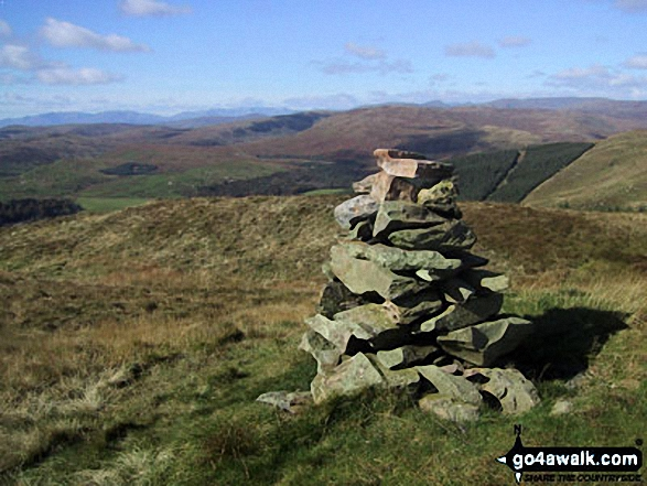 Walk Mabbin Crag walking UK Mountains in The Far Eastern Marches The Lake District National Park Cumbria    England