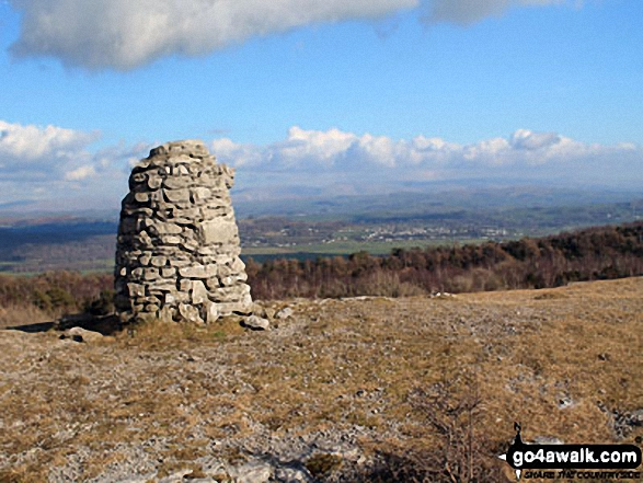 Lord's Seat (Whitbarrow Scar) summit beacon