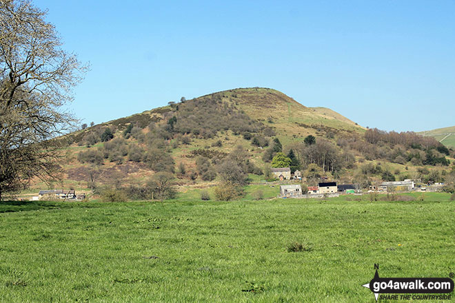 Hollins Hill and Hollins Farm from Swallow Brook
