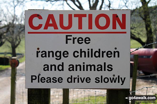 Sign at Dowall Hall