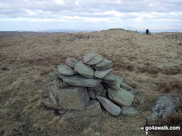 Nabs Moor summit cairn