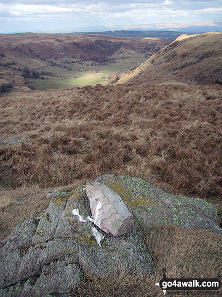 Cairn on Nabs Crag above Swindale