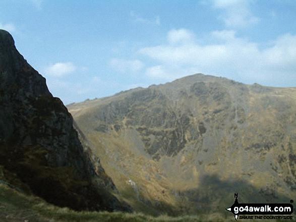 Cadair Idris (Penygadair) from Craig Cwm Arnarch