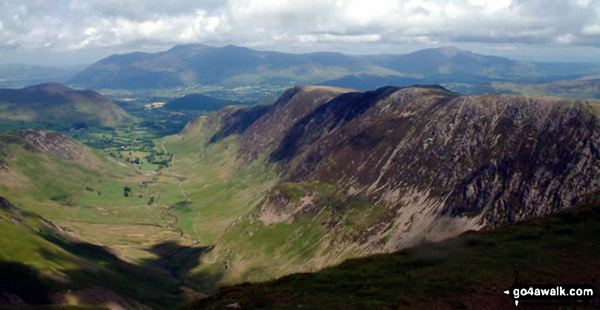 *The Newlands Valley from Dale Head (Newlands)