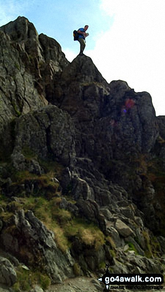 Striding Edge (Helvellyn)