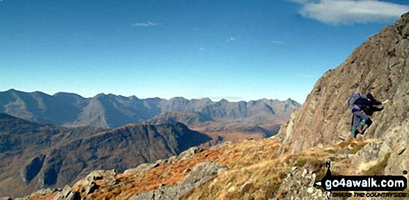 The Gabro on the main Cuillin Ridge