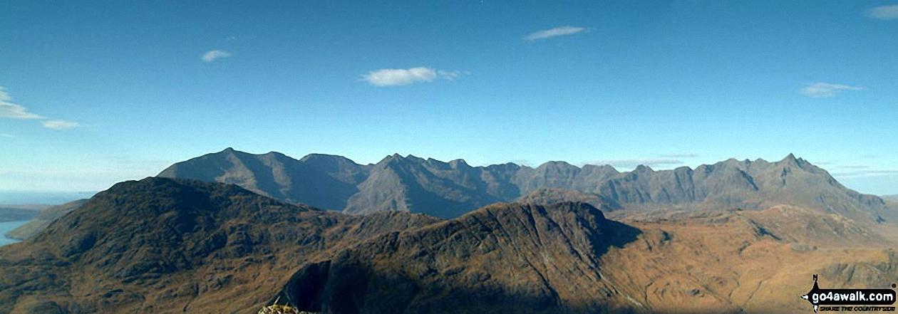 The Cuillin from near the Summit of Bla Bheinn (Blaven)