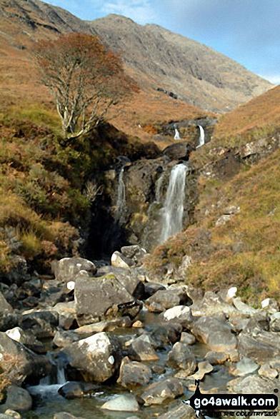 Waterfall en-route to Bla Bheinn (Blaven)