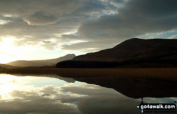 Bla Bheinn (Blaven) from across Loch Chrioso