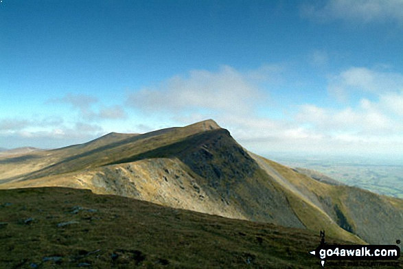 Blencathra or Saddleback from Gategill Fell