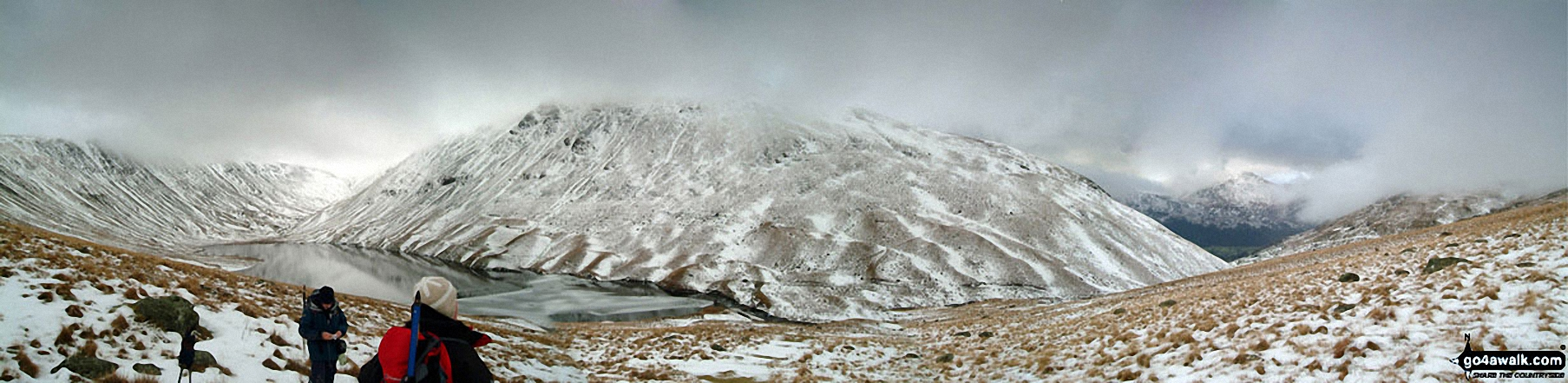 *Snow on Hayeswater from High Street