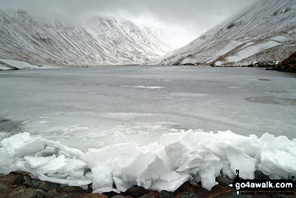 Ice on Hayeswater