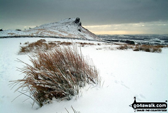 Snow on The Roaches