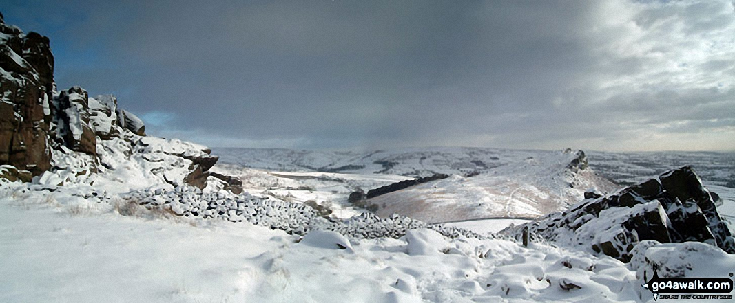 *Snow on The Roaches