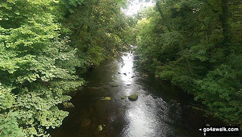The River Derwent from Yorkshire Bridge