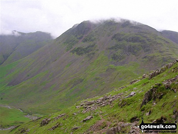 Great Gable from the Corridor Route below Scafell Pike