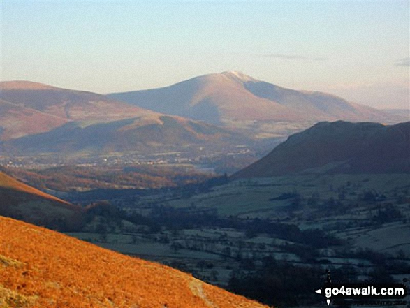 Blencathra from High Snab Bank, above Little Town