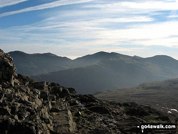 The Coniston Fells from Pike of Blisco (Pike o' Blisco)