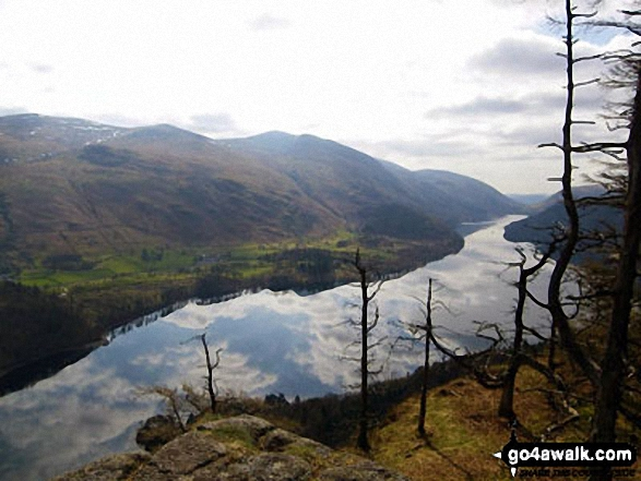 Helvellyn above Thirlmere from Raven Crag (Thirlmere)