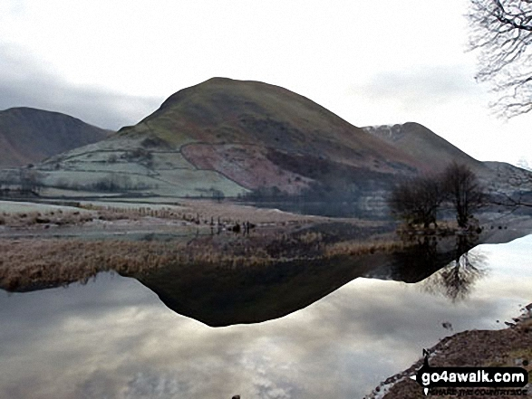 Hartsop Dodd across Brothers Water with Gray Crag (Hayeswater) (far left) and Stony Cove Pike (Caudale Moor) (far right). Walk route map c128 The Hayswater Round from Hartsop photo
