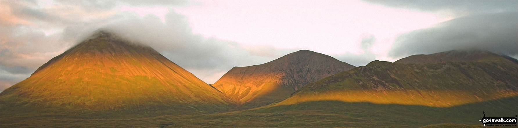 Glamaig in sunset taken from Sligachan