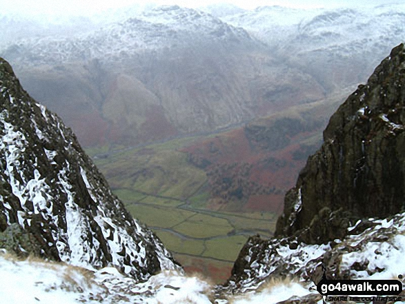 Great Langdale from Pike of Stickle