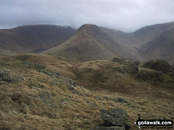 Gray Crag (Hayeswater) from Brock Crags