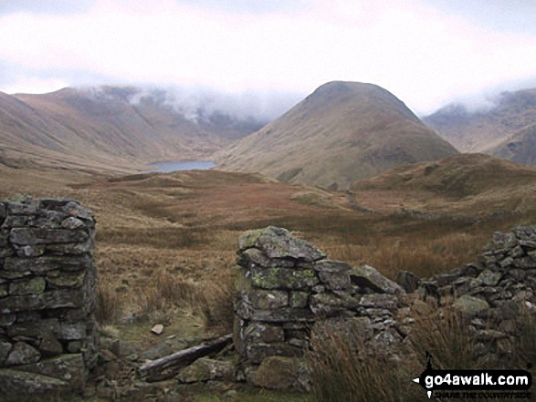 Walk Gray Crag (Hayeswater) walking UK Mountains in The Far Eastern Fells The Lake District National Park Cumbria    England