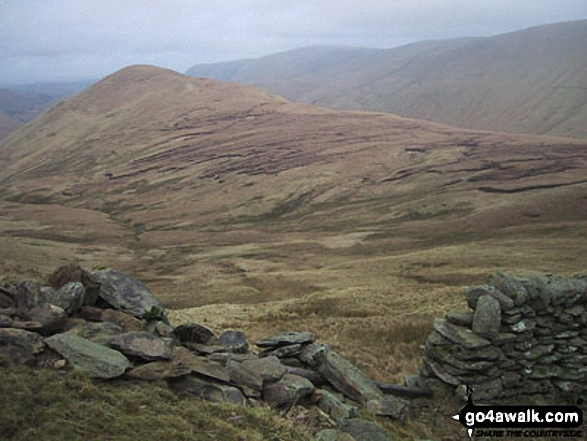 The Nab (Martindale) from the access point West of Rest Dodd