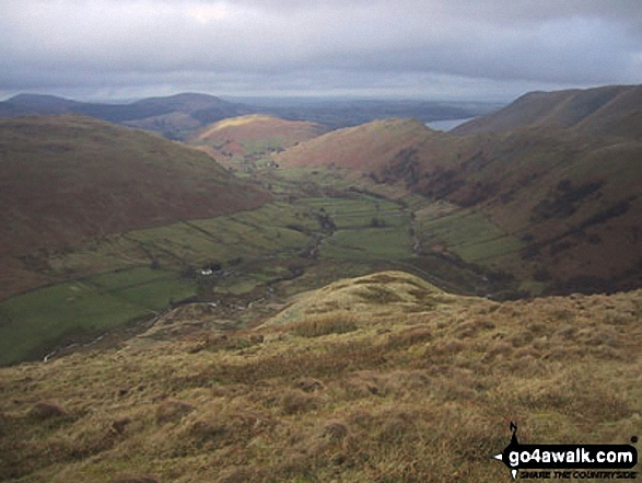 Martindale and Ullswater from The Nab (Martindale)