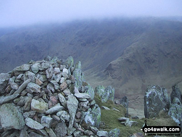 Twopenny Crag from Kidsty Pike. Walk route map c128 The Hayswater Round from Hartsop photo