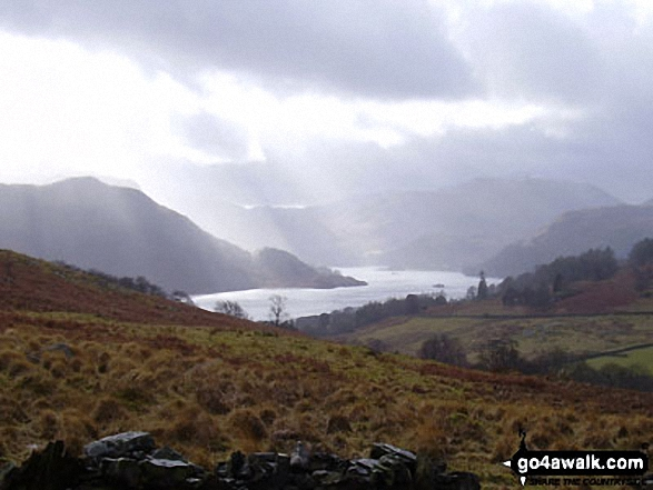 Ullswater and Patterdale from the lower slopes of Gowbarrow Fell (Airy Crag)