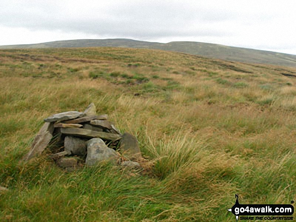 Little Fell (Lunds Fell) (Mallerstang) summit cairn