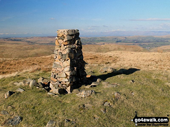 Grayrigg Forest summit trig point