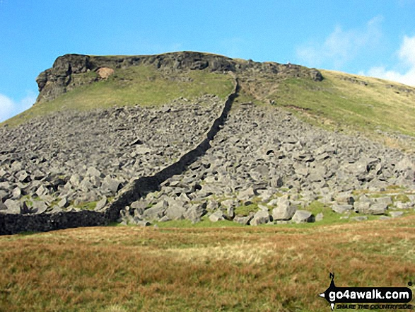 Pen-y-ghent from Gavel Rigg