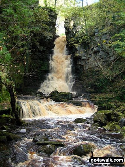 Mill Gill Force near Askrigg