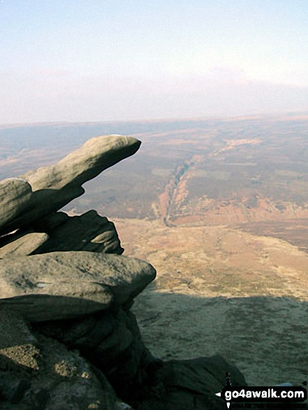 Rock sculptures on The Edge (Kinder Scout)